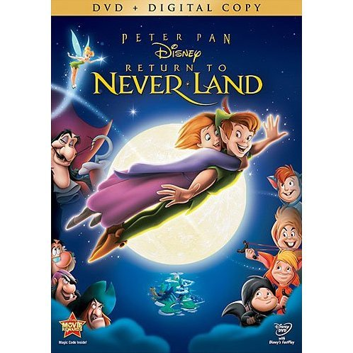 Peter Pan Return to Neverland [DVD+Digital Copy]