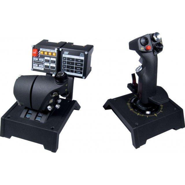 Saitek X65f Pro Flight Combat Control System Usb Pc