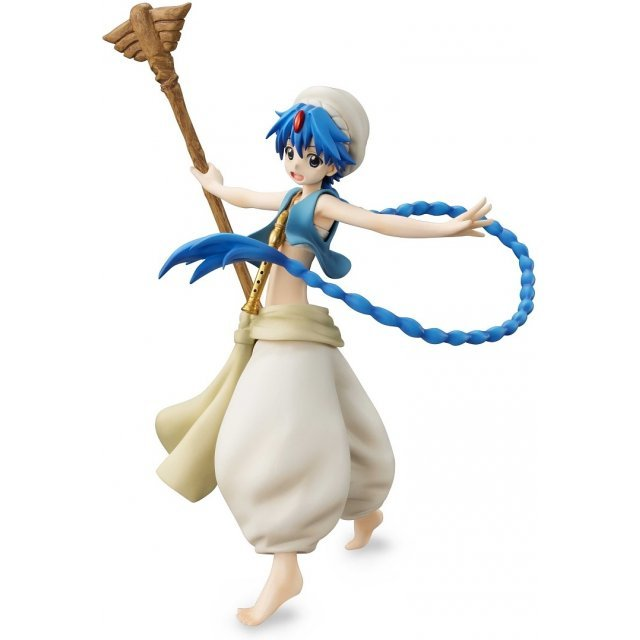 G.E.M. Series Magi Labyrinth of Magic 1/8 Scale Pre-Painted PVC Figure: Aladdin