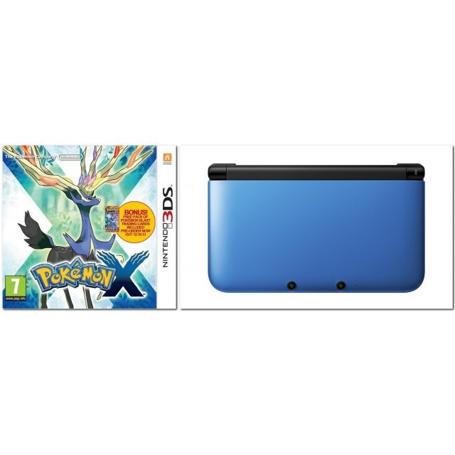 Pokemon X with Nintendo 3DS XL (Play-Asia.com Starter Bundle Set)
