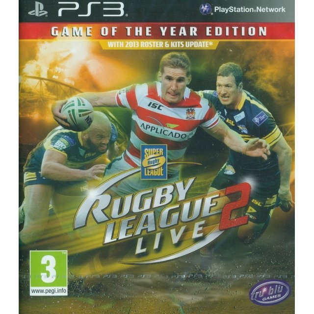 Rugby League Live 2 (Game of the Year)
