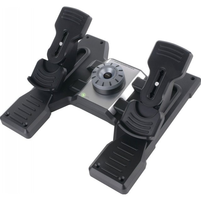 Saitek Pro Flight Rudder Pedals, USB (PC)