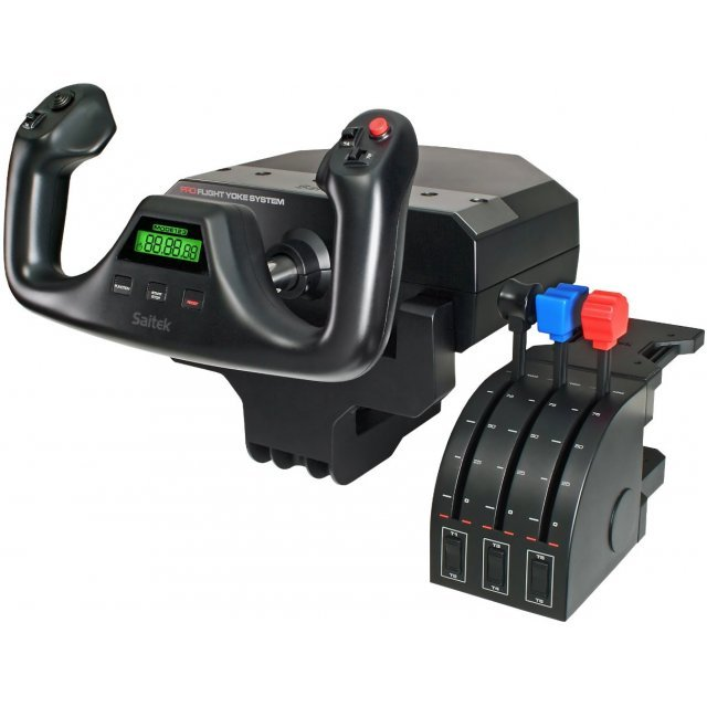 Saitek Pro Flight Yoke System, USB (PC)