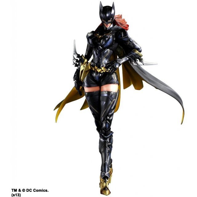 DC Comics Variant Play Arts Kai Batman Non Scale Pre-Painted Figure: Batgirl