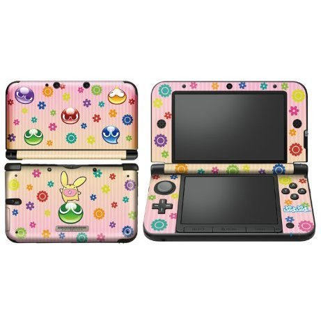 Puyo Puyo Design Skin for 3DS LL (Pink)