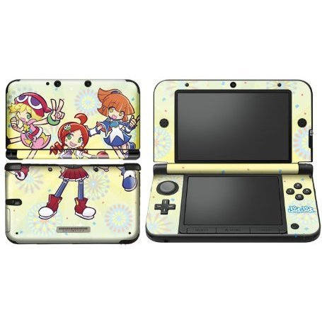 Puyo Puyo Design Skin for 3DS LL (Yellow)