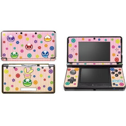 Puyo Puyo Design Skin for 3DS (Pink)