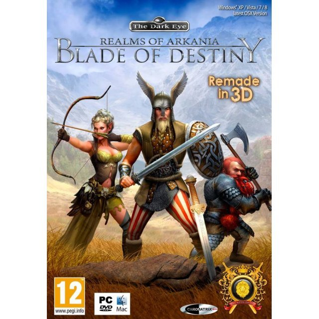 Realms of Arkania: Blade of Destiny (DVD-ROM)