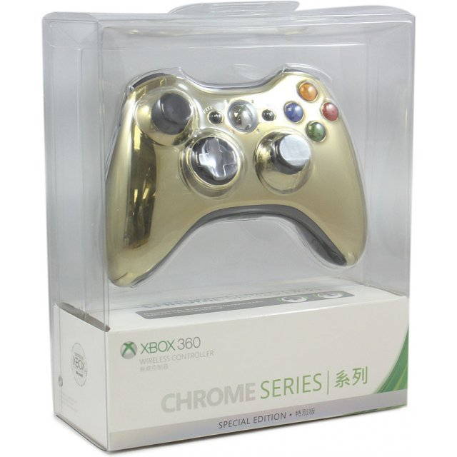 Xbox 360 Wireless Controller (Chrome Gold)