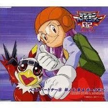 Digimon Adventure 02 Best Partner 8 Inoue Miyako & Hawkmon