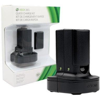 Xbox 360 Quick Charge Kit (Black)