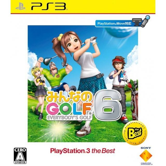 Minna no Golf 6 (Playstation 3 the Best)