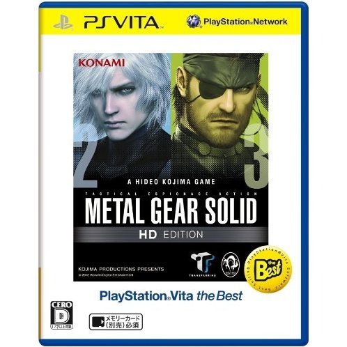 Metal Gear Solid HD Edition (Playstation Vita the Best)