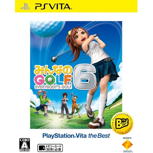 Minna no Golf 6 (Playstation Vita the Best)