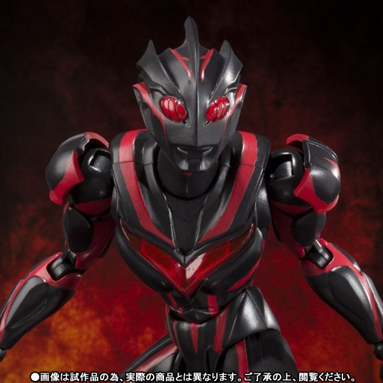 Ultra-Act Ultraman Non Scale Pre-Painted PVC Figure: Dark Zagi