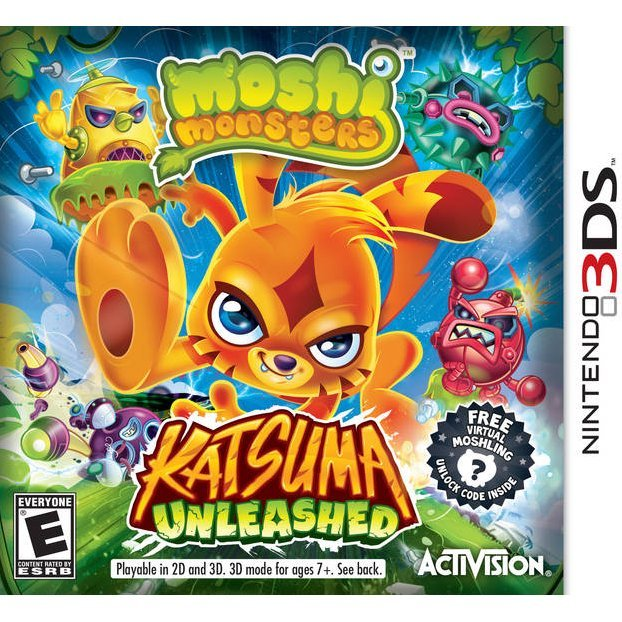 Moshi Monsters: Katsuma Unleashed
