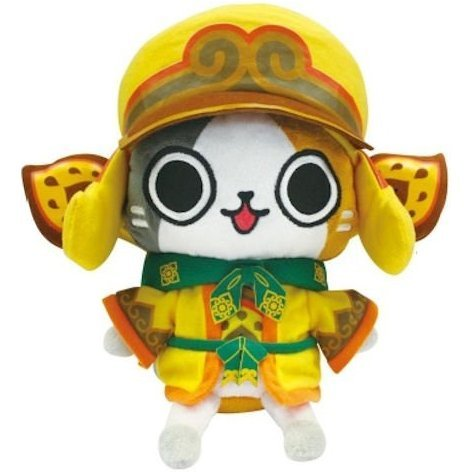 Monster Hunter Otomo Airou Dress Up Plush Doll: Kecha Neko