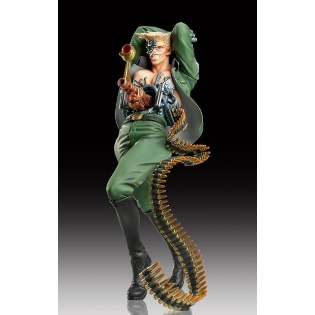 Statue Legend JoJo's Bizarre Adventure Part 2 Non Scale Pre-Painted PVC Figure: Rudol Von Stroheim