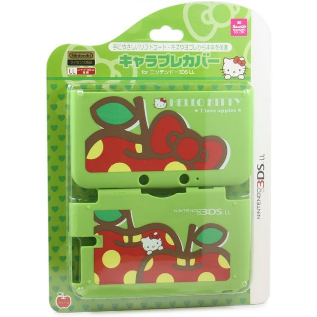 Chare Pure Cover for 3DS LL [Hello Kitty Green]