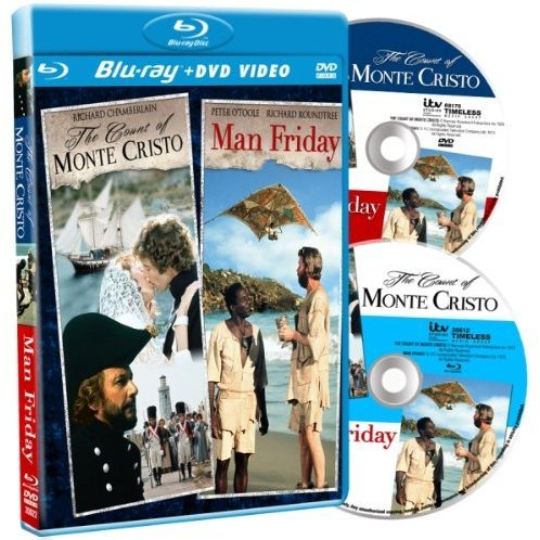 Count of Monte Cristo / Man Friday [Blu-ray+DVD Combo]