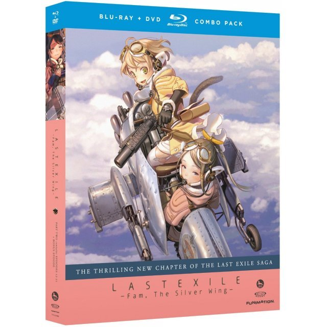Last Exile: Fam, The Silver Wing Pt 2 [Blu-ray+DVD]