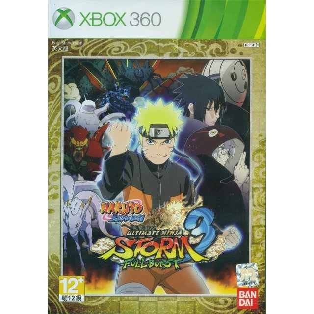 Naruto Shippuden: Ultimate Ninja Storm 3 Full Burst (English Version)
