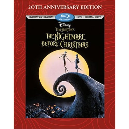 The Nightmare Before Christmas [Blu-ray 3D+Blu-ray DVD+Digital Copy]