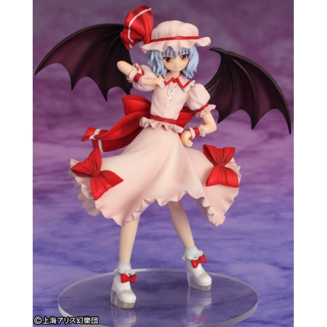 Touhou Project 1/10 Scale Pre-Painted PVC Figure: Remilia Scarlet