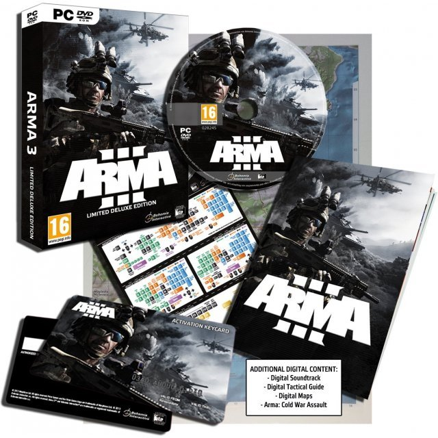 Arma III (Limited Deluxe Edition) (DVD-ROM)