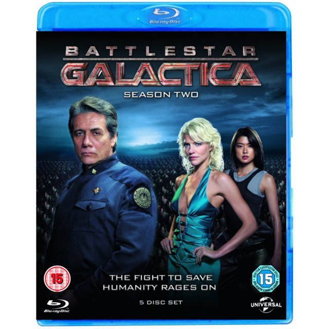 Battlestar Galactica: Season Two  [Blu-ray+UltraViolet]