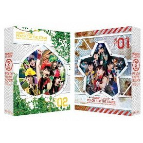 Haru No Ichidaiji 2013 Seibu Dome Taikai - Hoshi Wo Tsugu Momo Vol.1 / Vol.2 Peach For The Stars Dvd Box [Limited Edition]