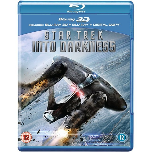 Star Trek Into Darkness 3D [Blu-ray 3D+Blu-ray+Digital Copy]