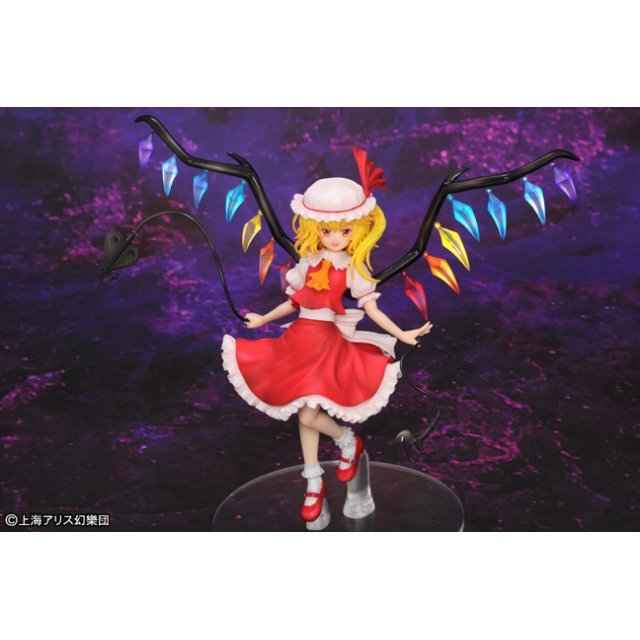Touhou Project 1/10 Scale Pre-Painted PVC Figure: Flandre Scarlet
