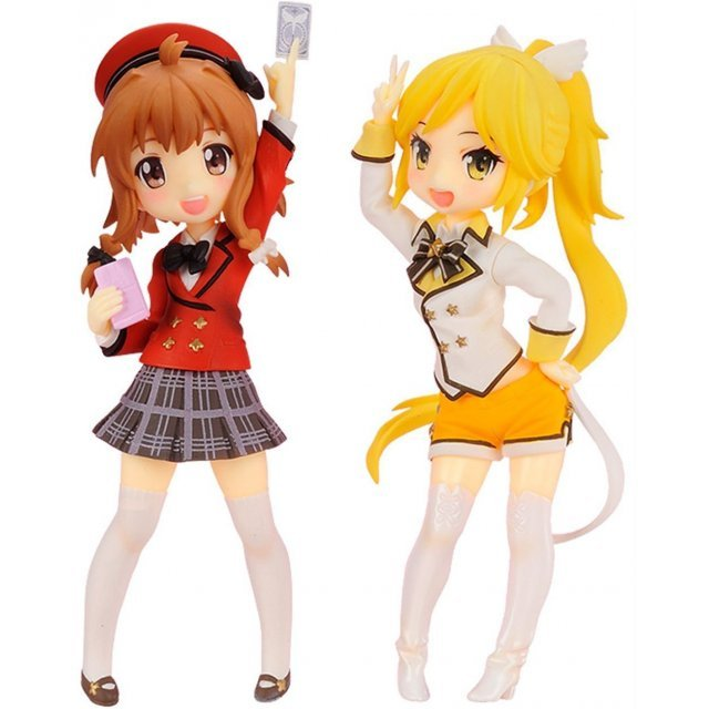 Twin Pack Fantasista Doll Non Scale Pre-Painted PVC Figure: Uno Uzume & Sasara
