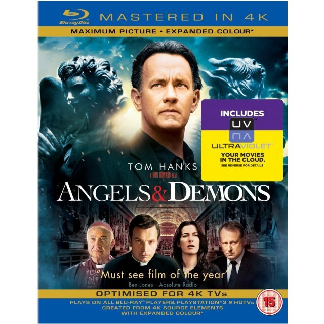 Angels & Demons [Mastered in 4K/Blu-ray+UltraViolet]