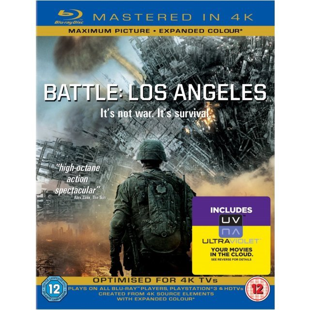 Battle: Los Angeles [Mastered in 4K/Blu-ray+UltraViolet]