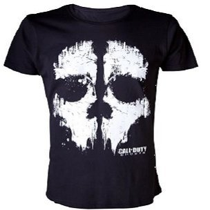 Activision Call of Duty: Ghosts - Foil Ghost Black T-Shirt (XXL)