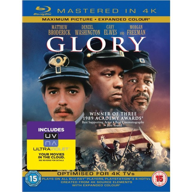 Glory [Mastered in 4K/Blu-ray+UltraViolet]