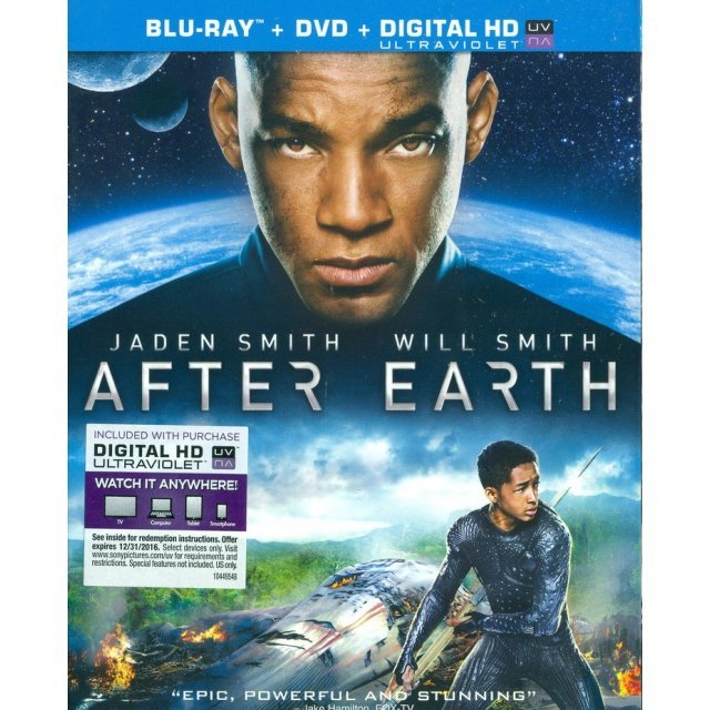 After Earth [Bluray+DVD+UltraViolet]