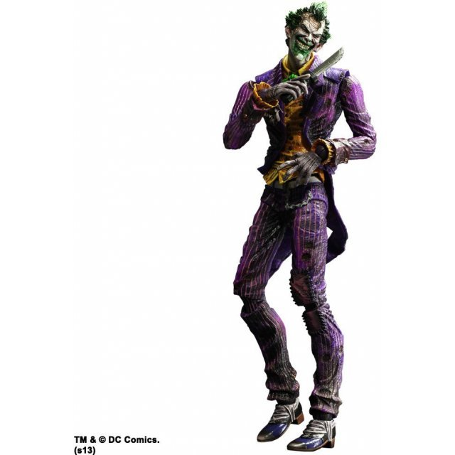 Batman Arkham City Play Arts Kai Non Scale Pre-Painted Figure: Joker