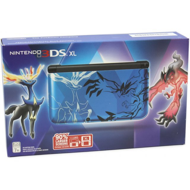 Nintendo 3DS XL (Pokemon Xerneas/Yveltal - Blue Edition)