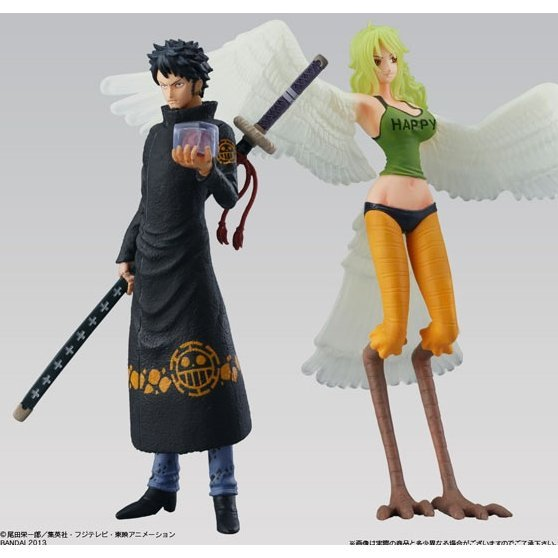 Super One Piece Styling Pre-Painted Candy Toy: Trafalgar Law & Monet