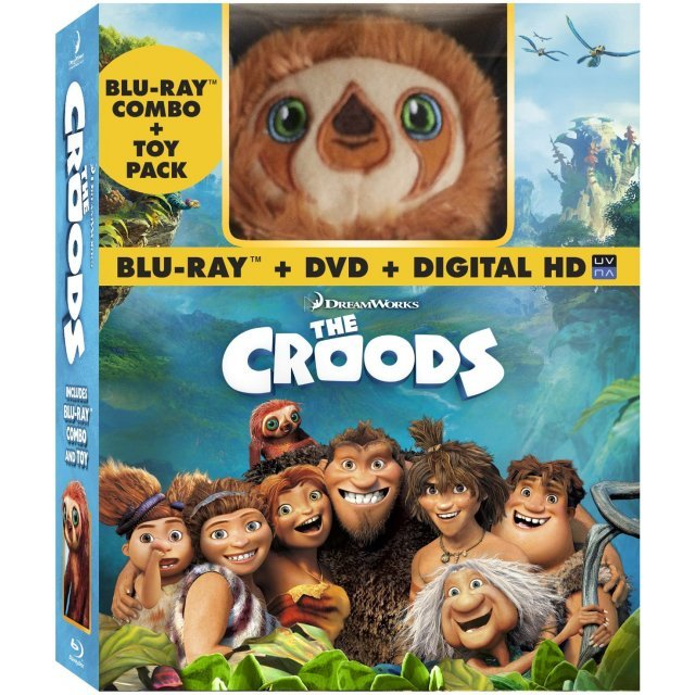 The Croods [Blu-ray+DVD+Digital Copy+Plush Toy]