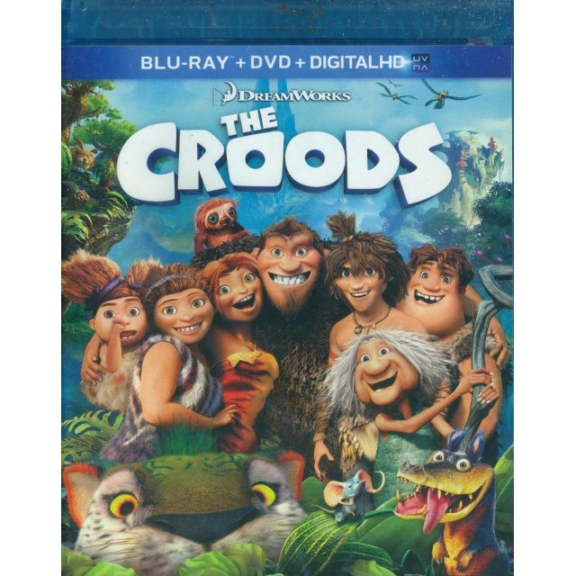 The Croods [Blu-ray+DVD+UltraViolet]