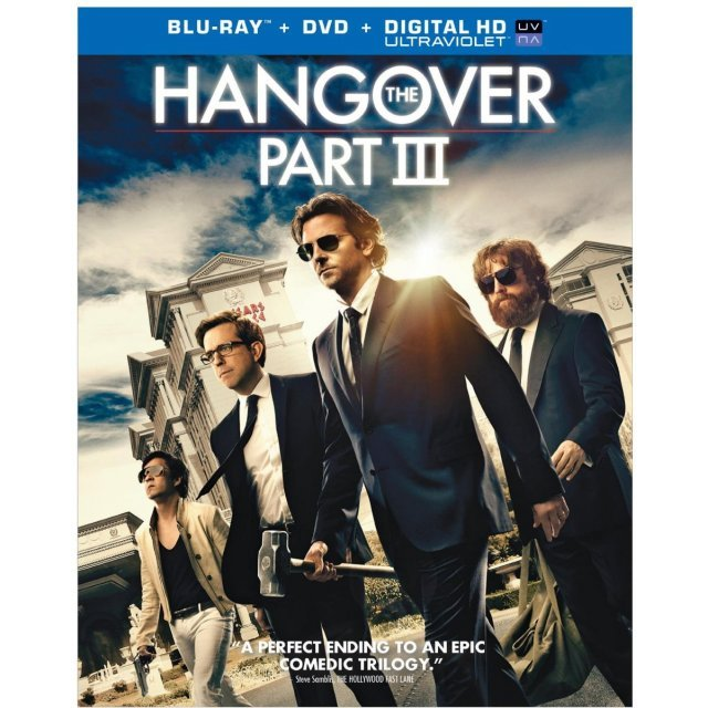 The Hangover Part III [Blu-ray+DVD+UltraViolet]