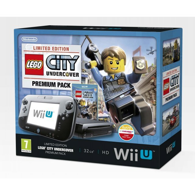 Wii U Limited Edition Lego City: Undercover Premium Pack