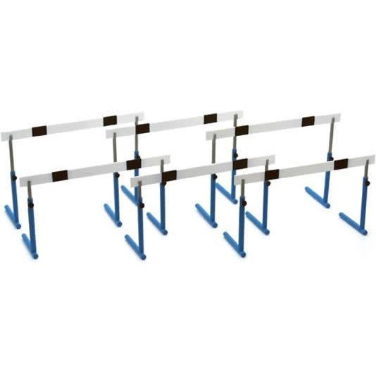 1:12 Scale School Equipment Series 1/12 Scale Pre-Painted Plastic Model Train: GK-03 Hurdle Blue