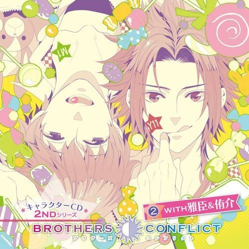 Brothers Conflict Character Cd 2nd Series 2 With Masaomi & Yusuke