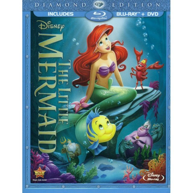 The Little Mermaid [Diamond Edition Blu-ray+DVD]