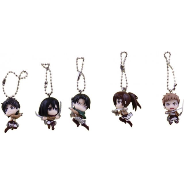 Attack on Titan Shape Pendant (Set of 5 pieces)